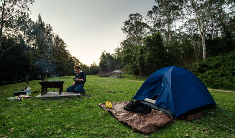 Woko campground - QLD Tourism