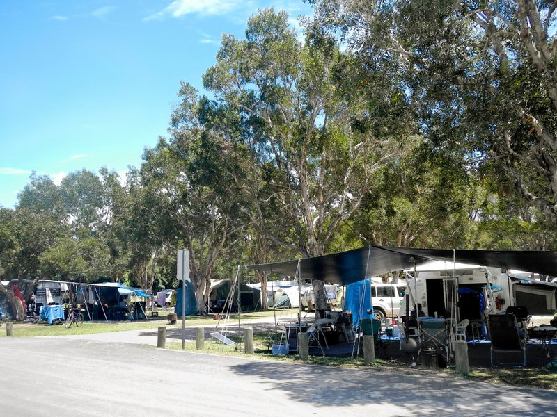 Diamond Head campground - QLD Tourism