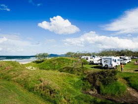 Noosa North Shore Beach Campground - QLD Tourism