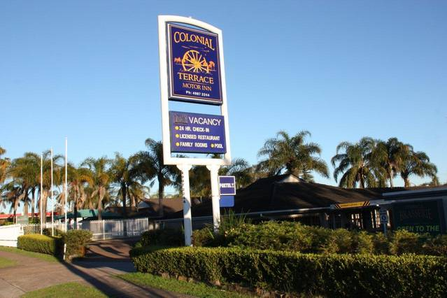 Colonial Terrace Motor Inn - QLD Tourism