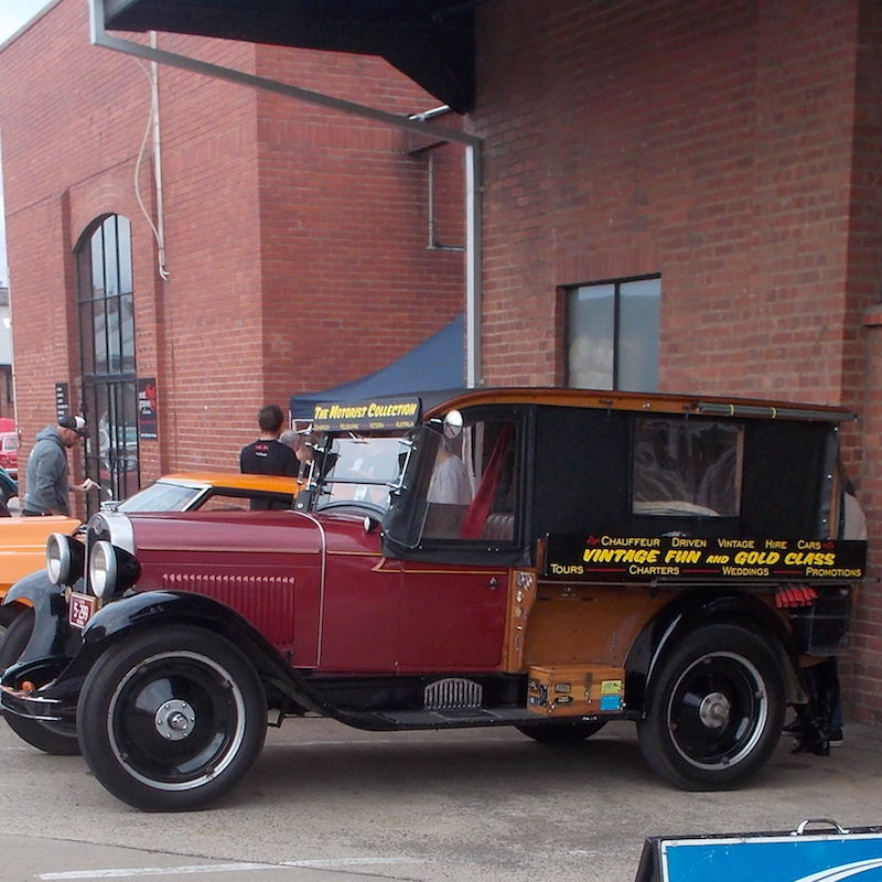 Vintage Fun Hire Cars - QLD Tourism