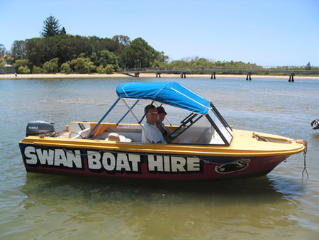 Swan Boat Hire