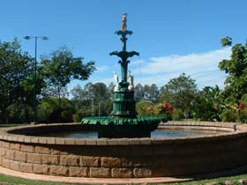 Band Rotunda and Fairy Fountain - QLD Tourism