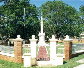 Boonah War Memorial and Memorial Park - QLD Tourism