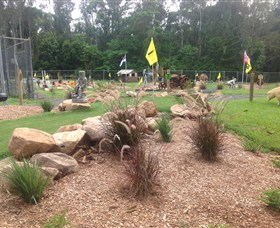 The Cove Miniature Golf Course - QLD Tourism