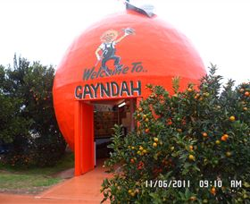 Gayndahs Big Orange - QLD Tourism
