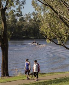 St George Riverbank Walkway - QLD Tourism