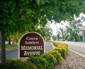 Memorial Avenue in Cowra - QLD Tourism