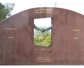 Cowra Italy Friendship Monument - QLD Tourism