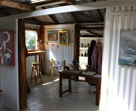 Tin Shed Gallery - QLD Tourism