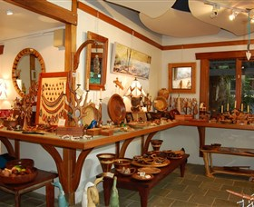 The Woodcraft Gallery - QLD Tourism