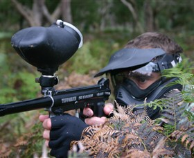 Tactical Paintball Games - QLD Tourism