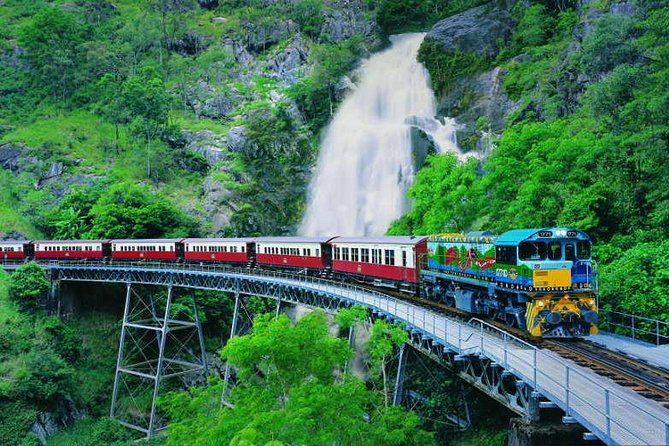Full-Day Tour with Kuranda Scenic Railway Skyrail Rainforest Cableway and Hartley's Crocodile Adventures from Cairns - QLD Tourism