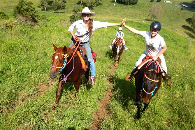 Country Day Ride from Mt Goomboorian with Rainbow Beach Horse Rides