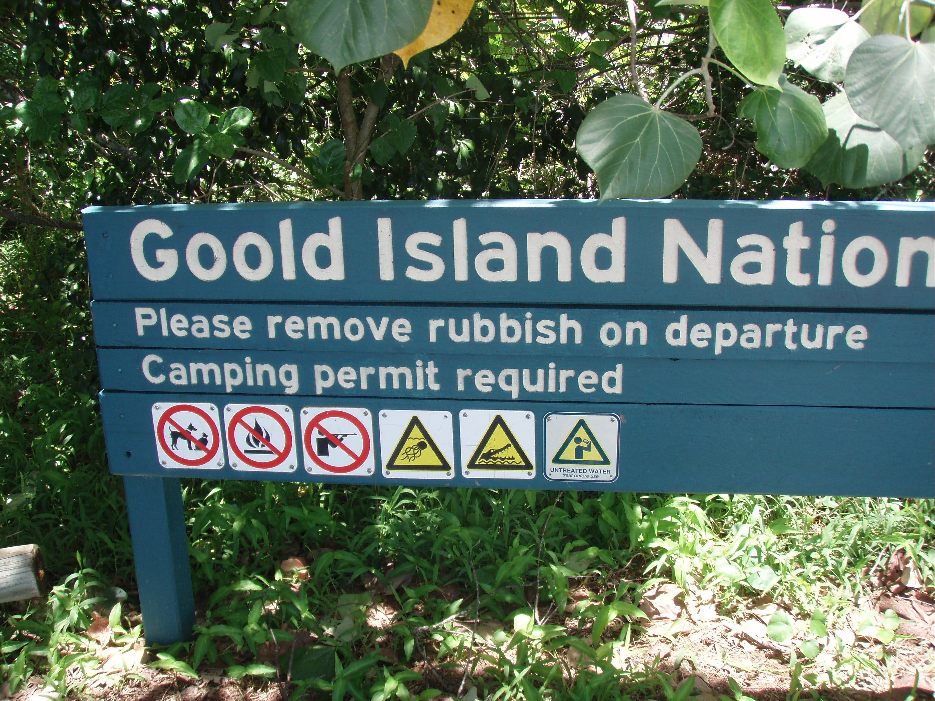 Goold Island National Park - QLD Tourism