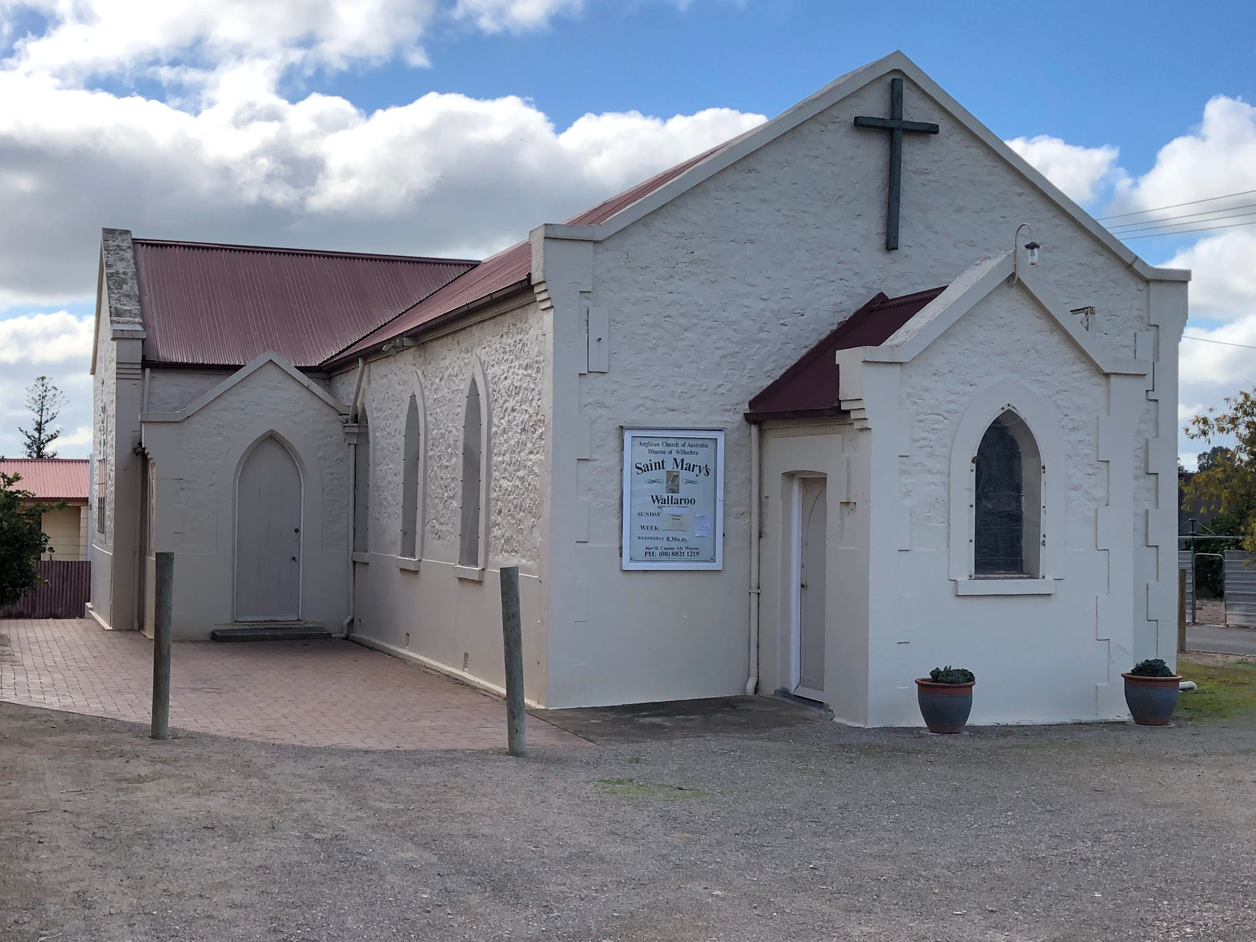 St Mary's Anglican Church Wallaroo - QLD Tourism