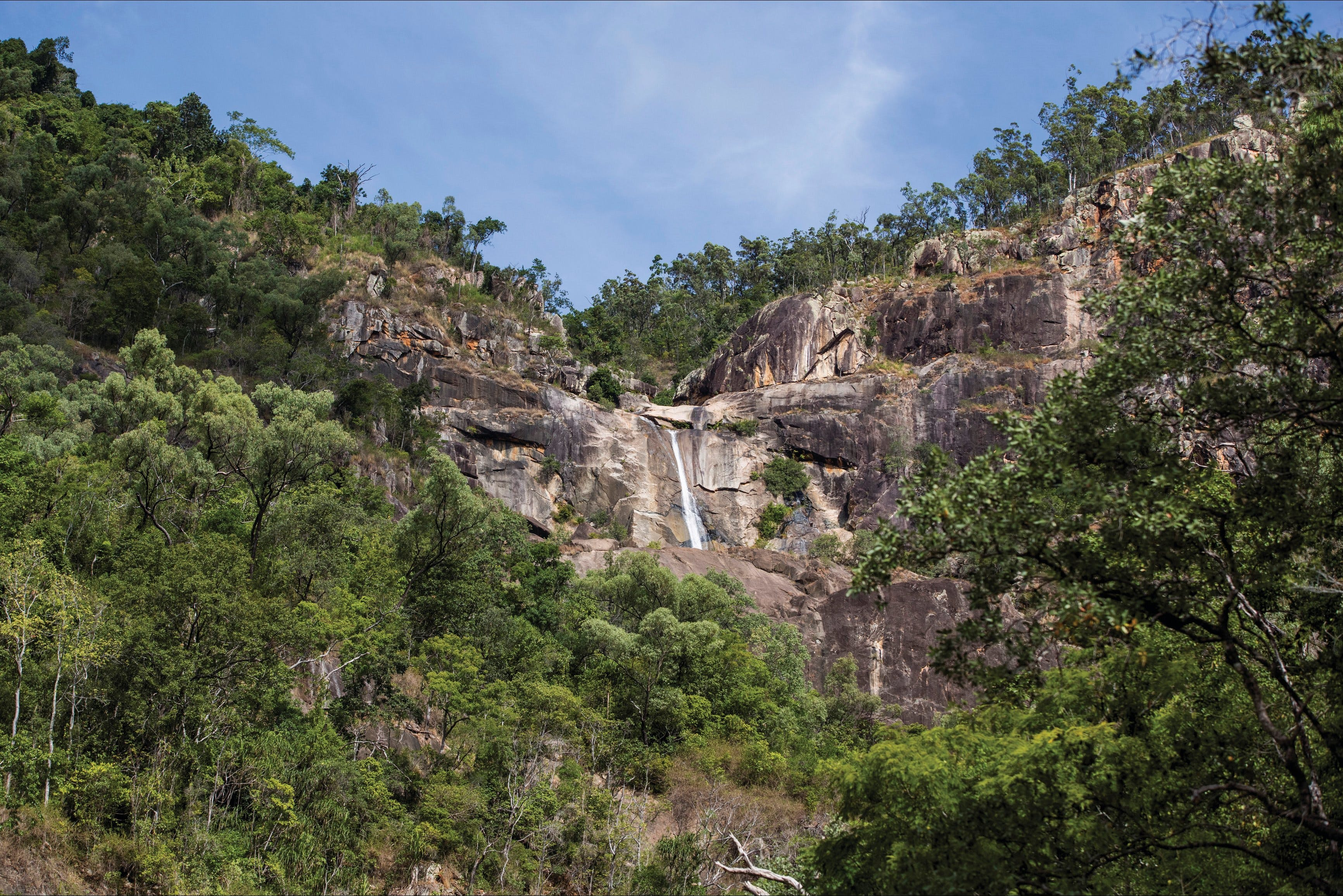 Jourama Falls Paluma Range National Park - QLD Tourism