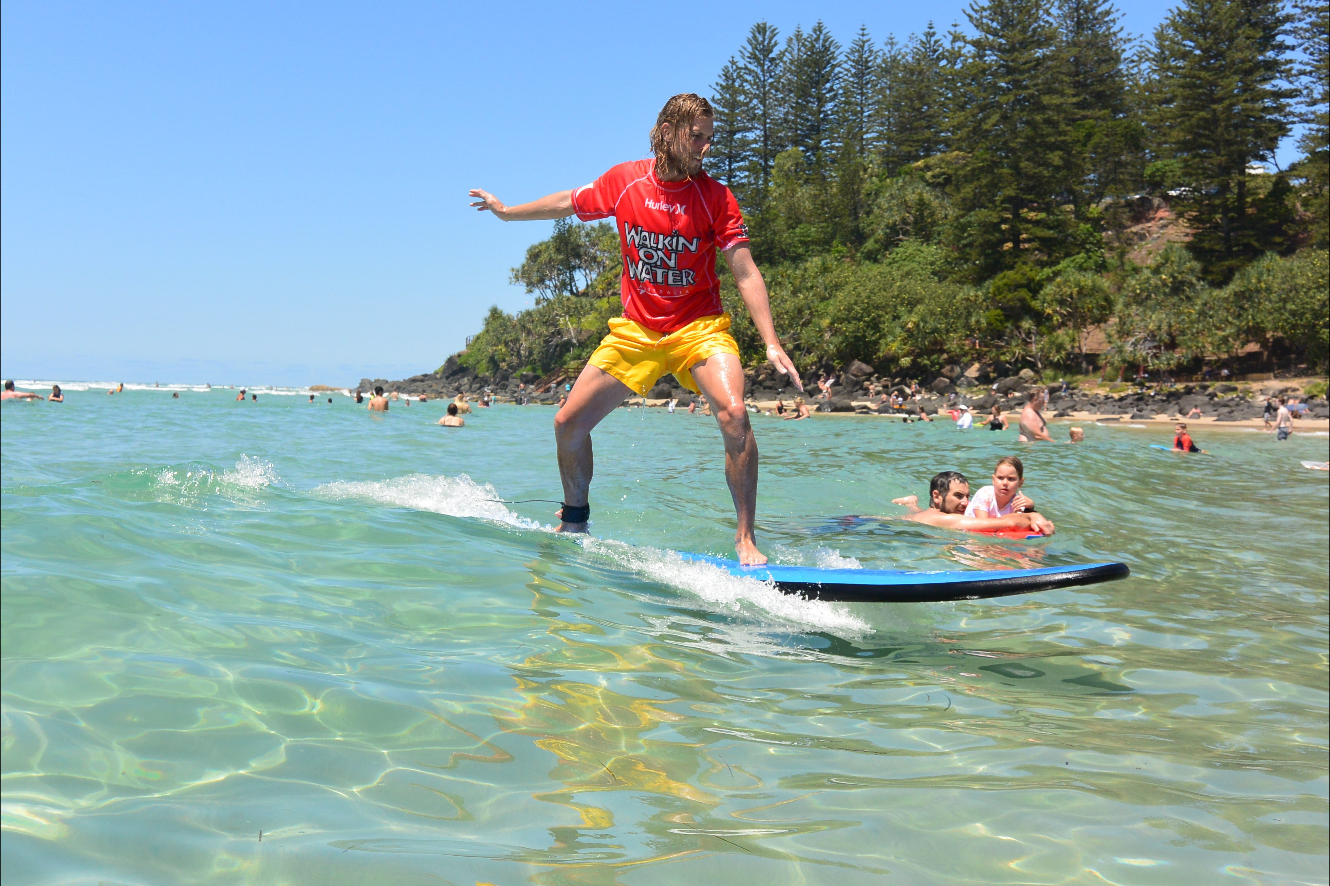 Walkin' On Water Surf School - QLD Tourism