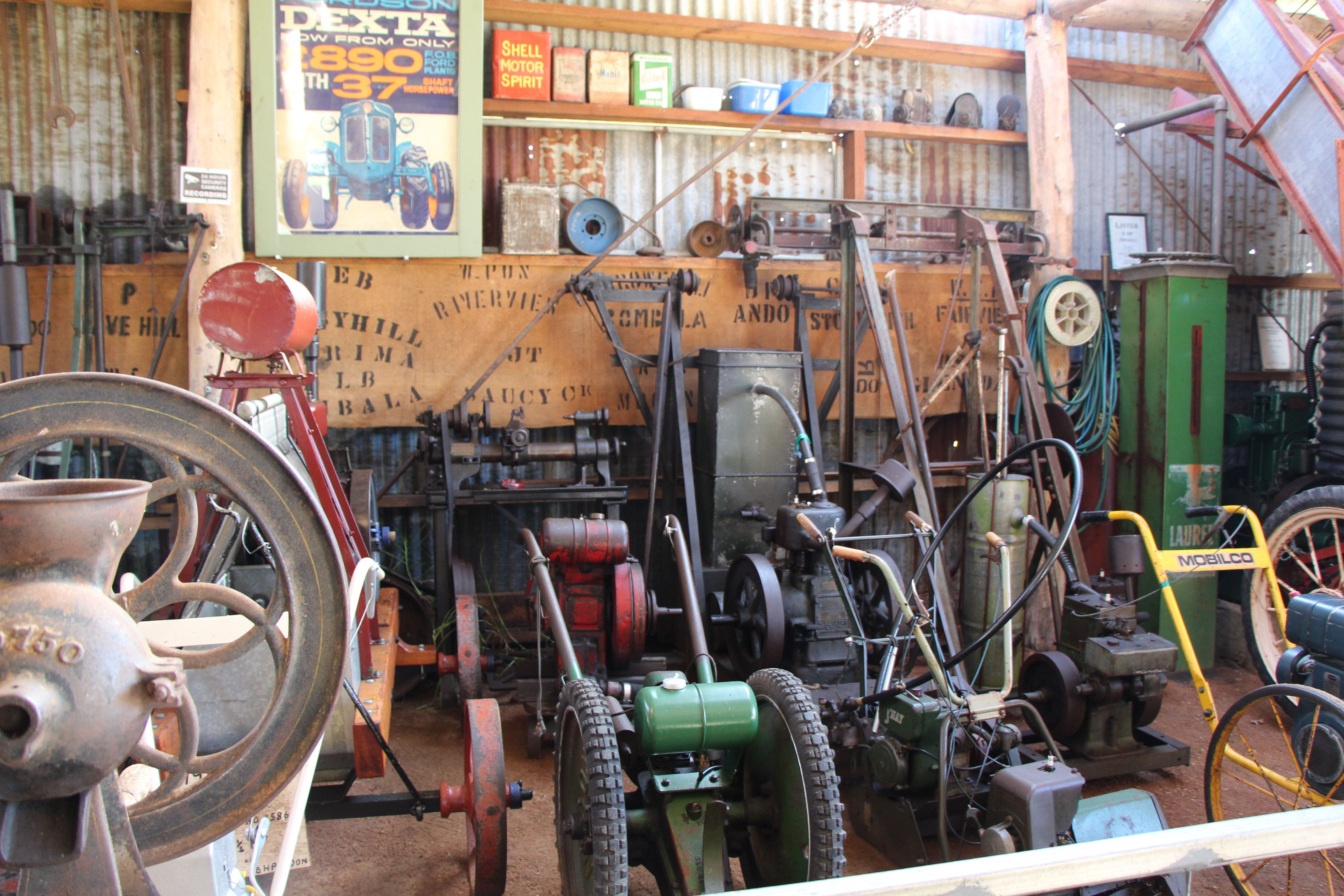 Bombala Historic Engine and Machinery Shed - QLD Tourism