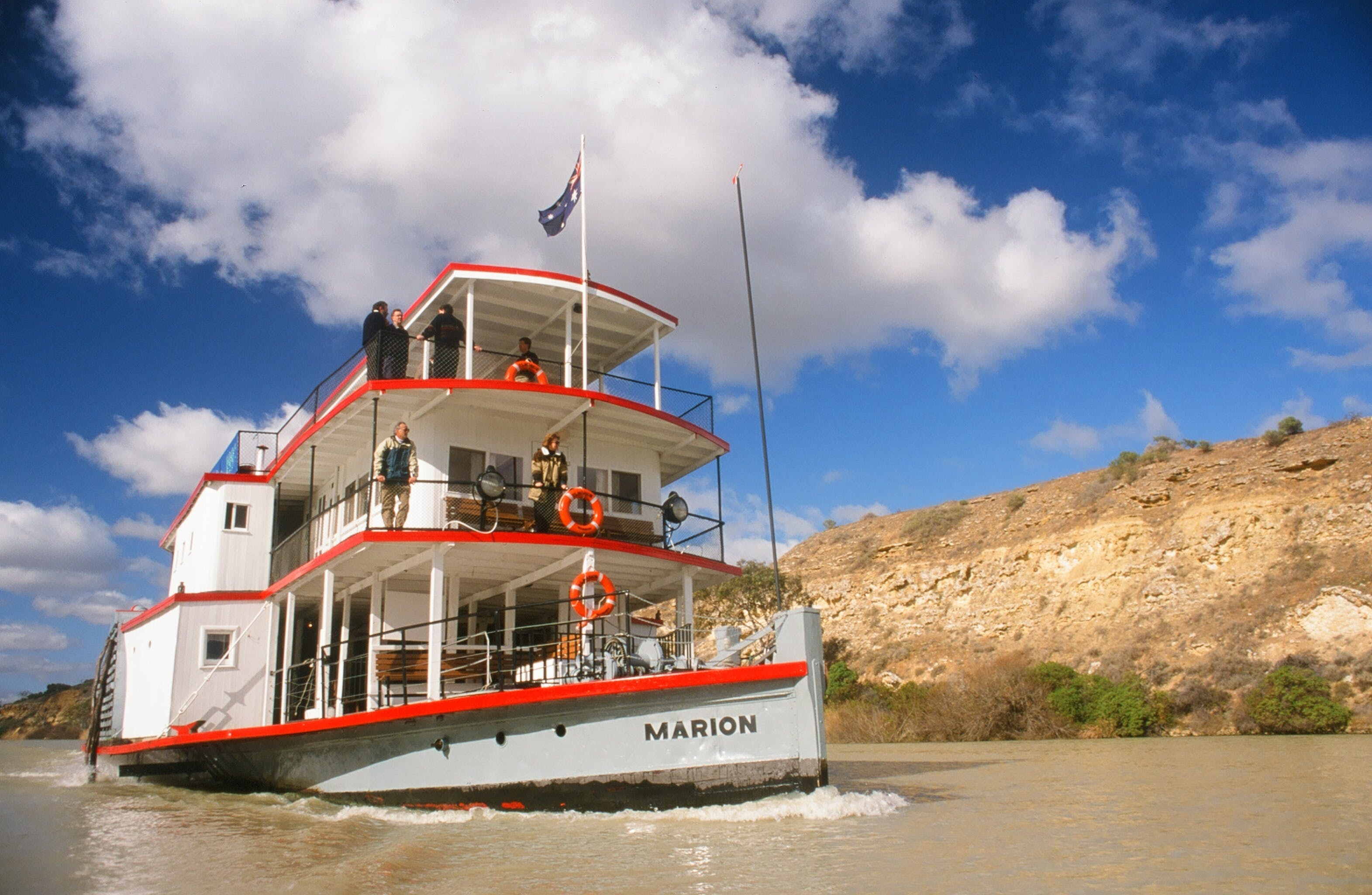 PS Marion Short Cruises - all cruises cancelled until further notice - QLD Tourism