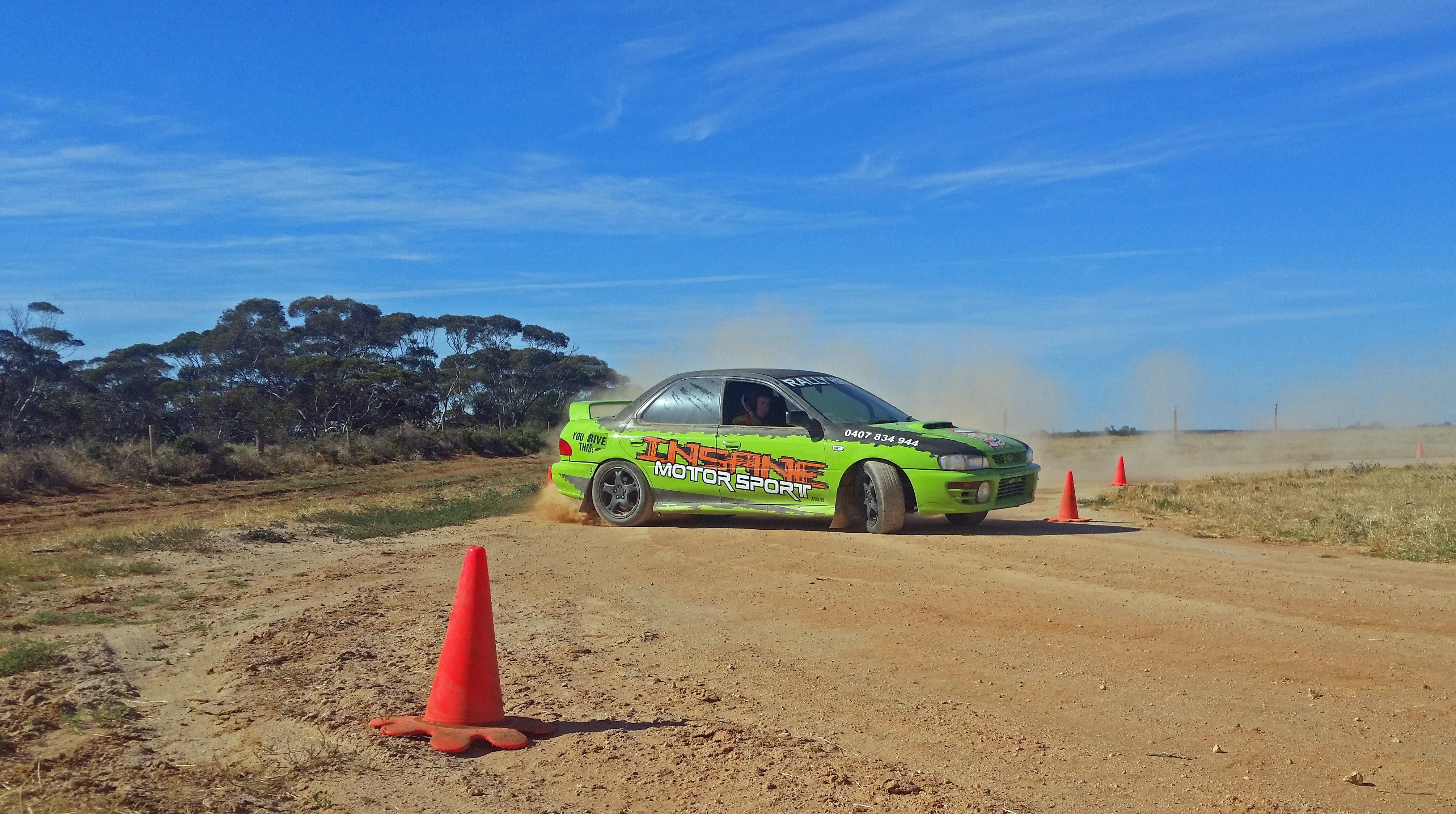 Rally Driving Loveday - QLD Tourism