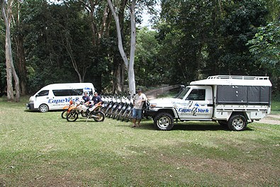 Cape York Motorcycle Adventures - QLD Tourism