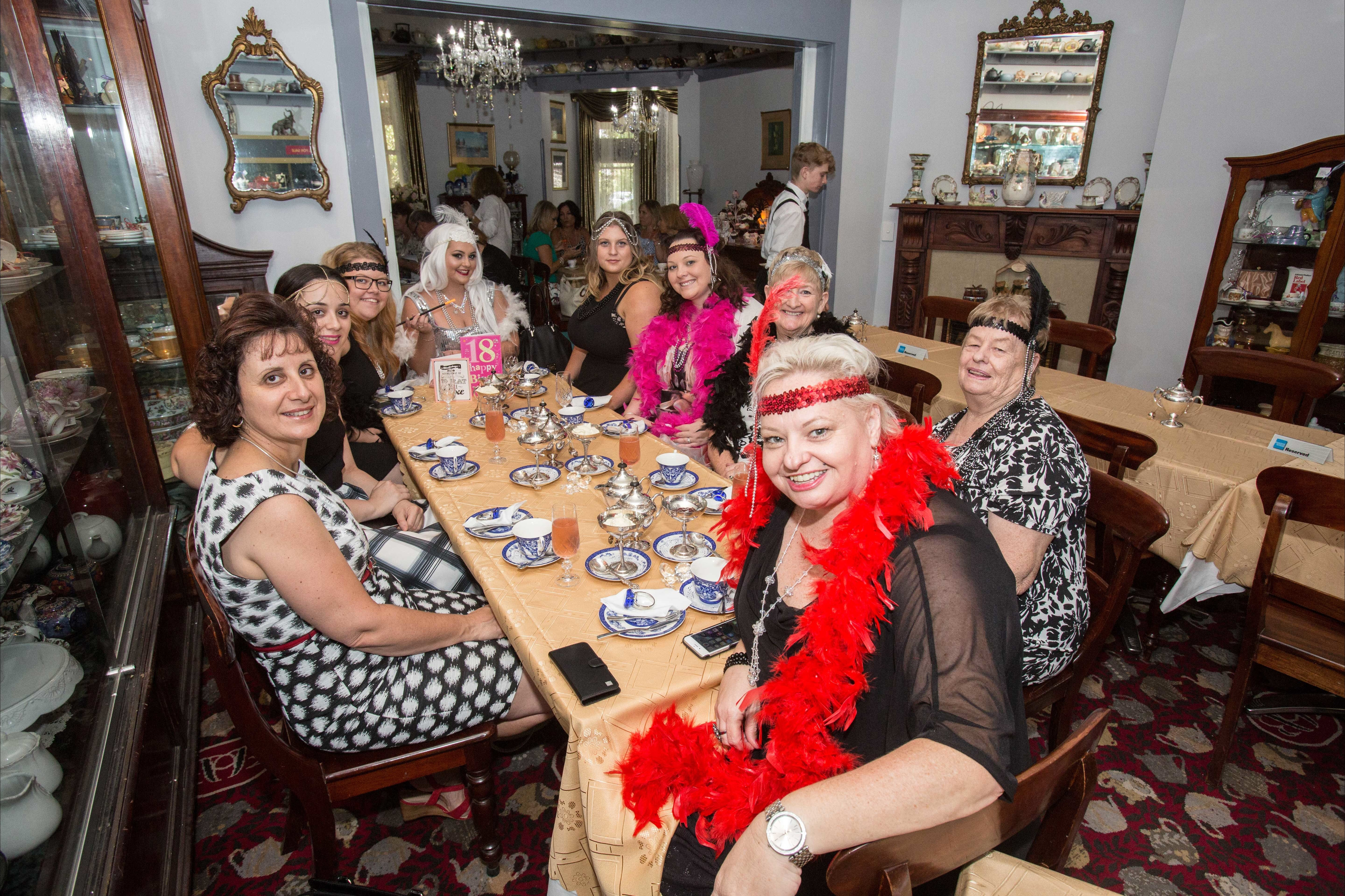 Bygone Beauty's Traditional High Tea Supreme for Good Food Month. - QLD Tourism