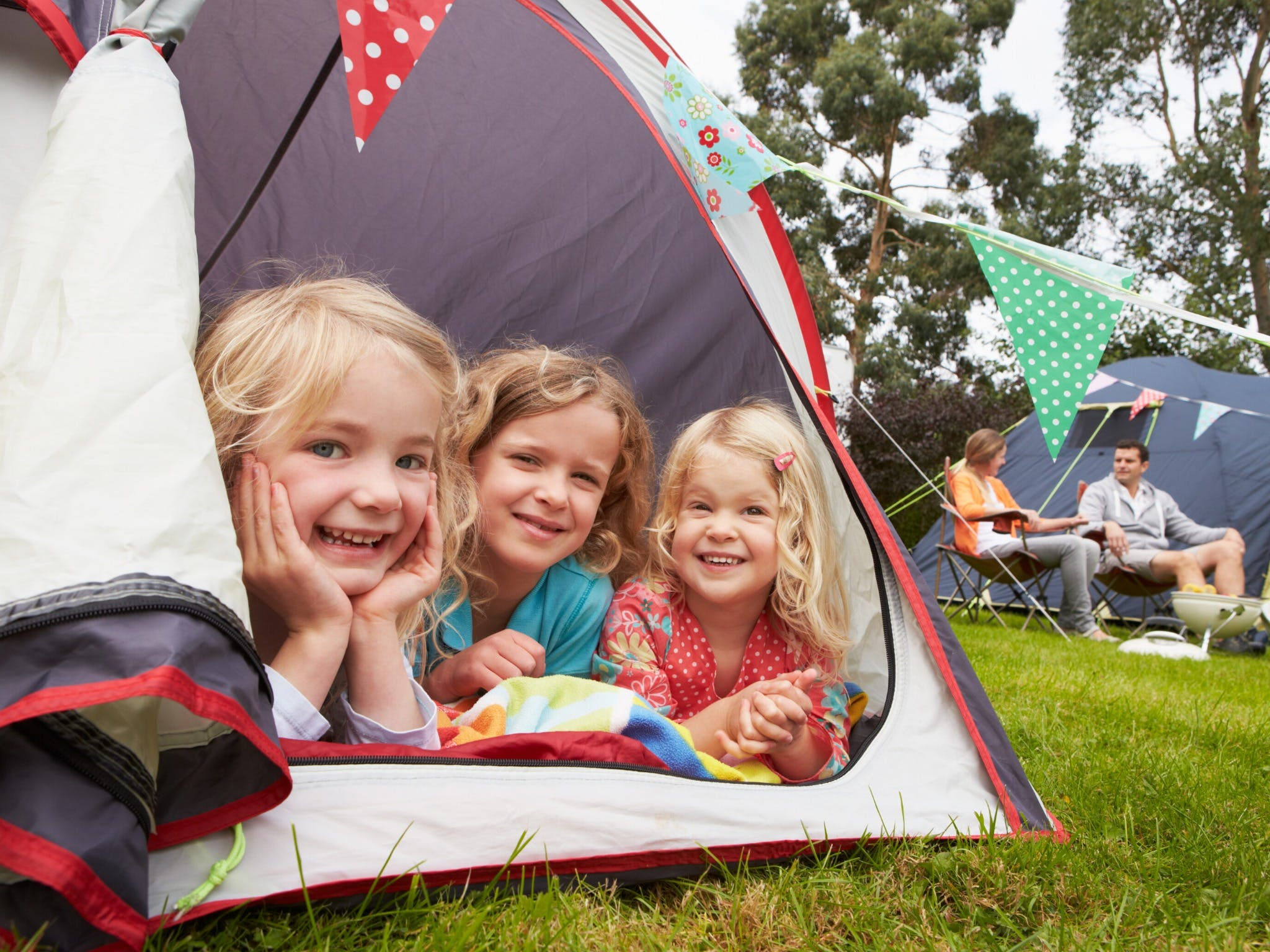 Camp Out In Town - QLD Tourism