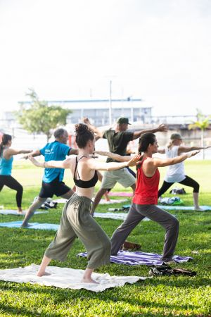 Free Weekly Yoga Asana Class - QLD Tourism