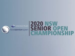 Men's NSW Senior Open - QLD Tourism