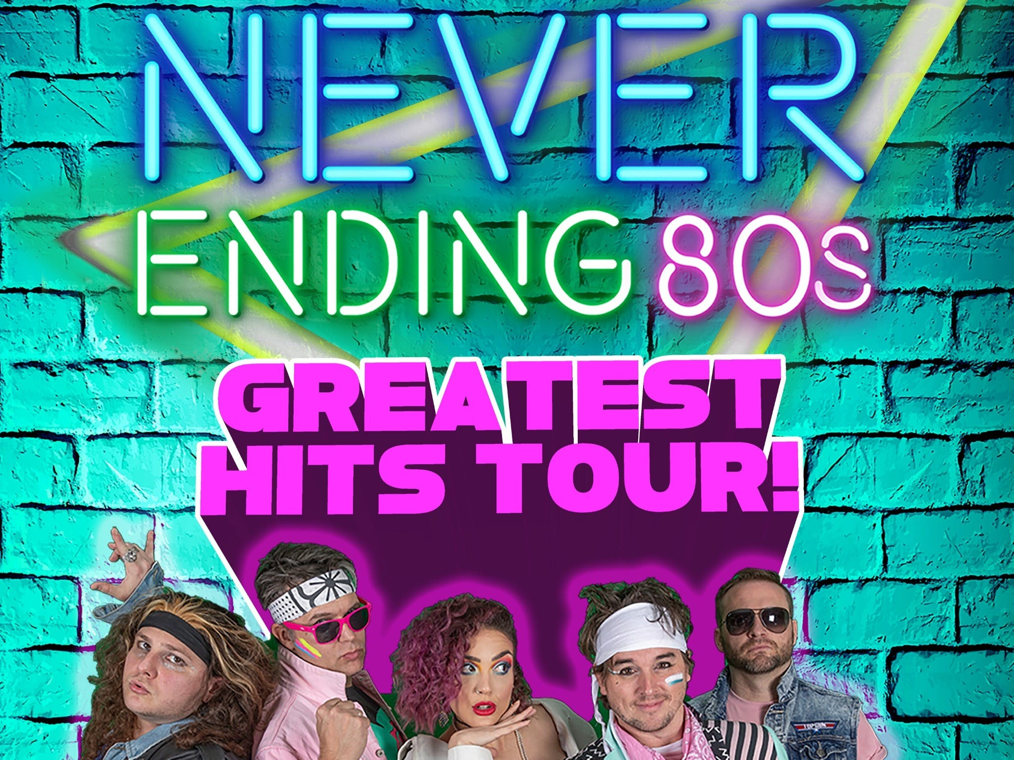Never Ending 80s - The Greatest Hits Tour - QLD Tourism