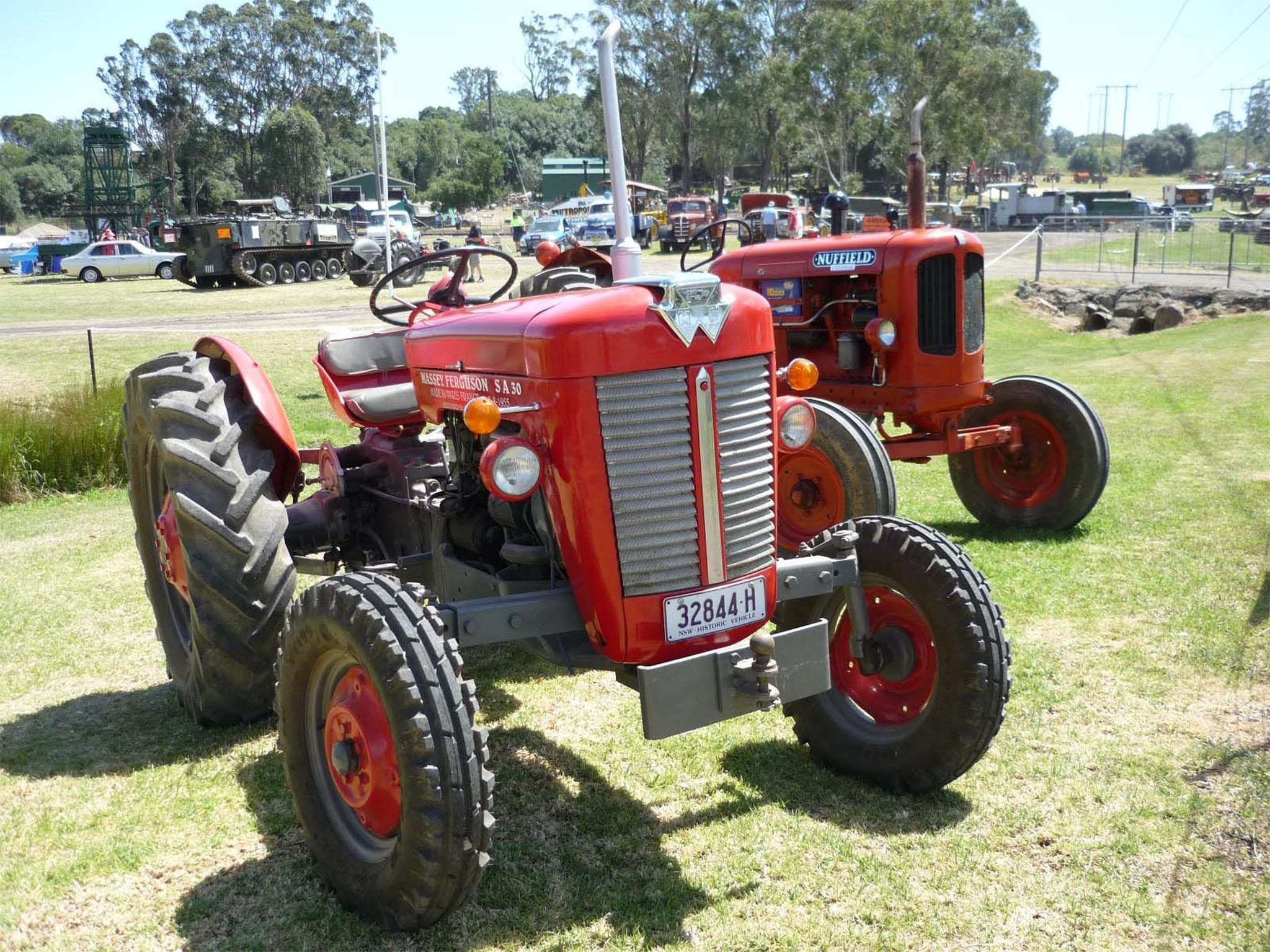 Oil Steam and Kerosene Family Fun Day - QLD Tourism