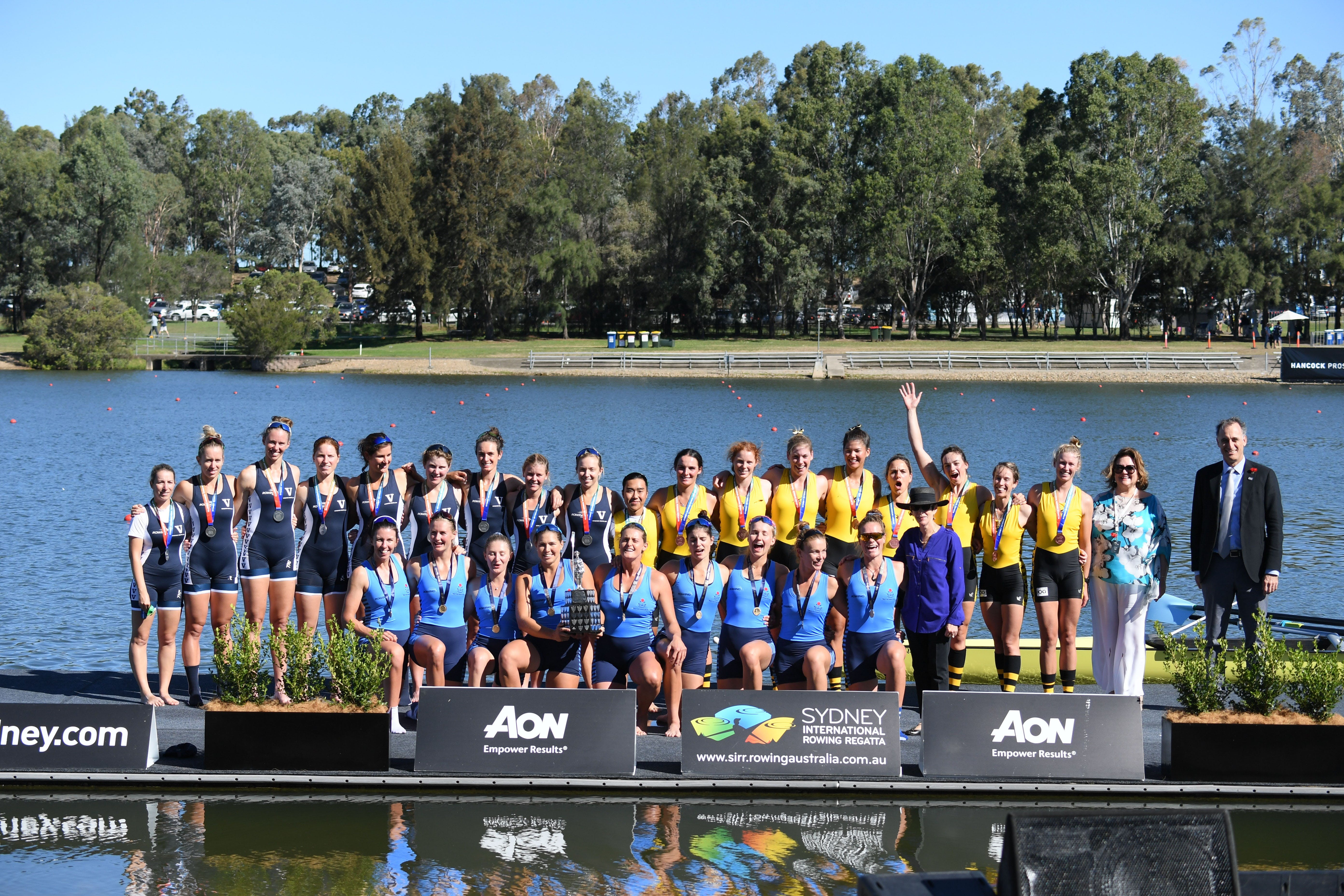 Aon Sydney International Rowing Regatta - QLD Tourism