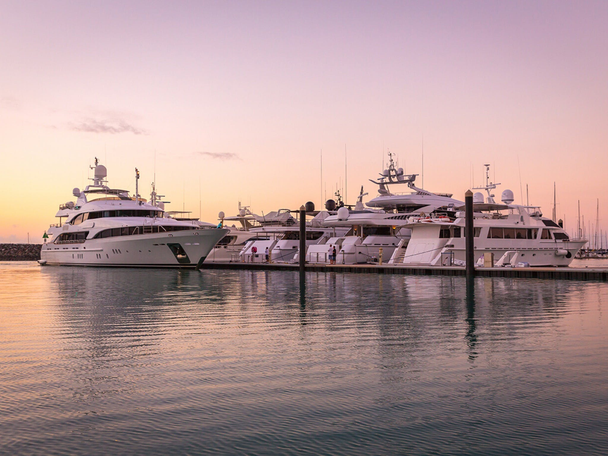Australian Superyacht Rendezvous - Great Barrier Reef edition - QLD Tourism