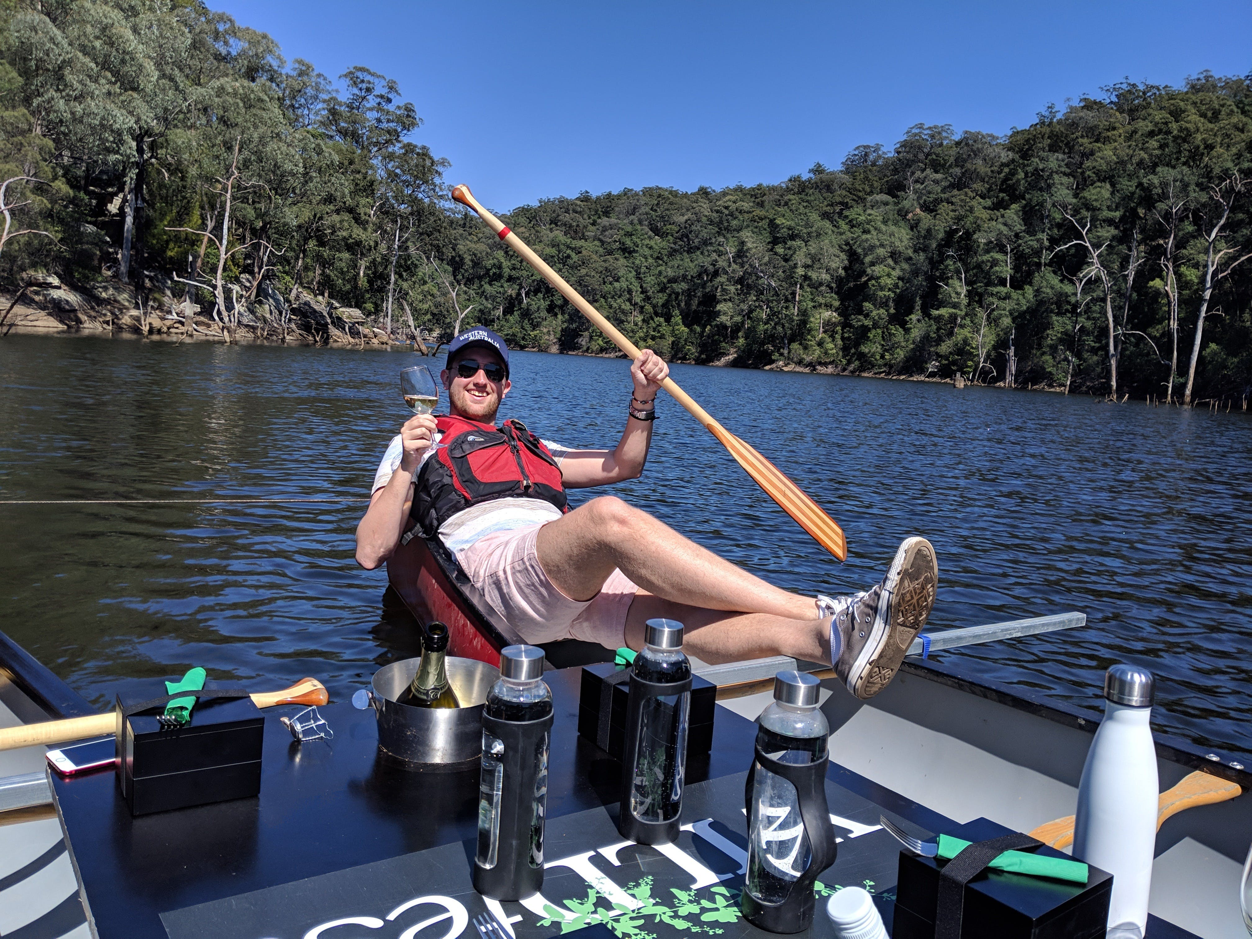 Canoes Champagne and Canaps - QLD Tourism