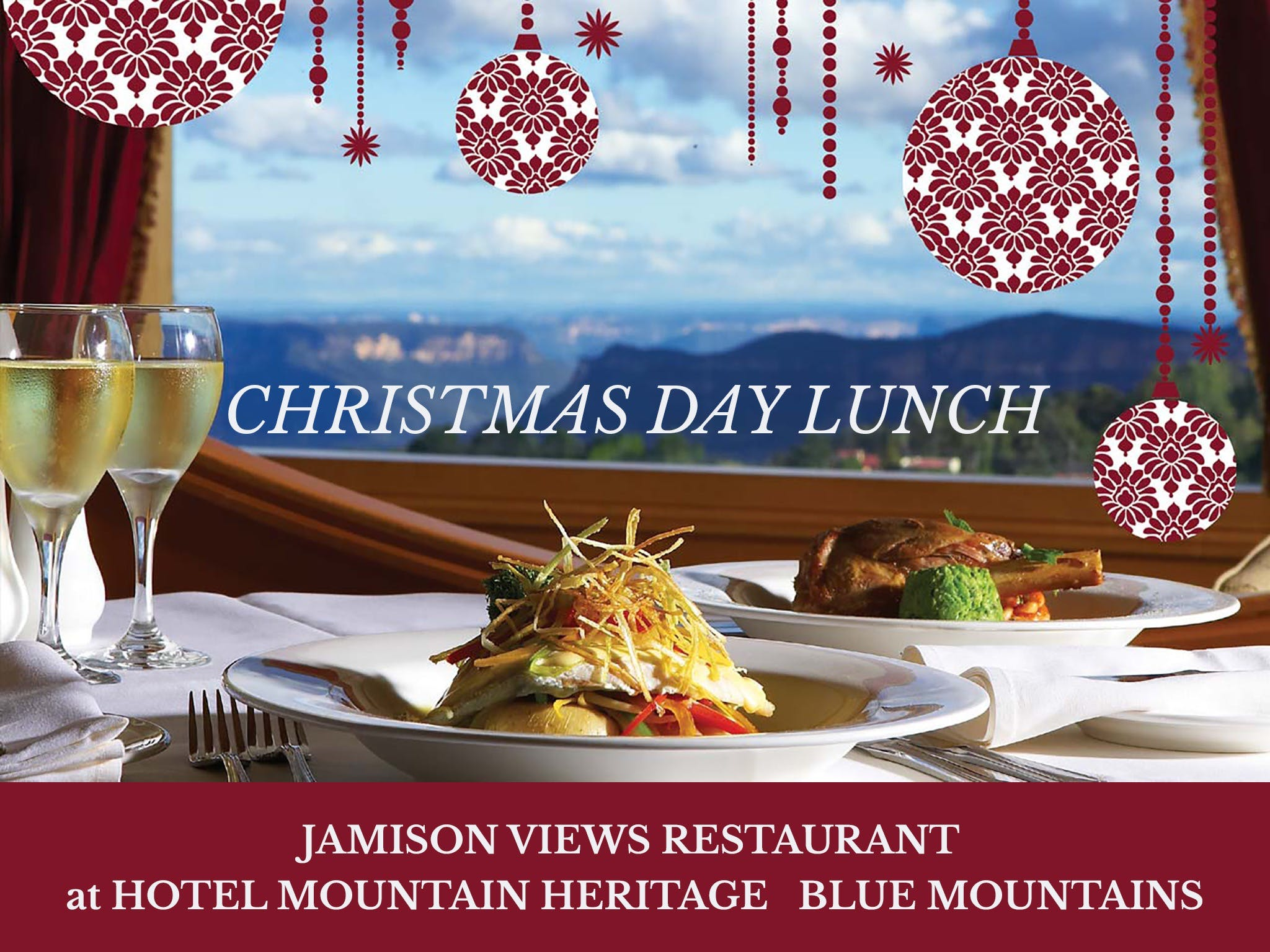 Christmas Day Lunch Hotel Mountain Heritage - QLD Tourism