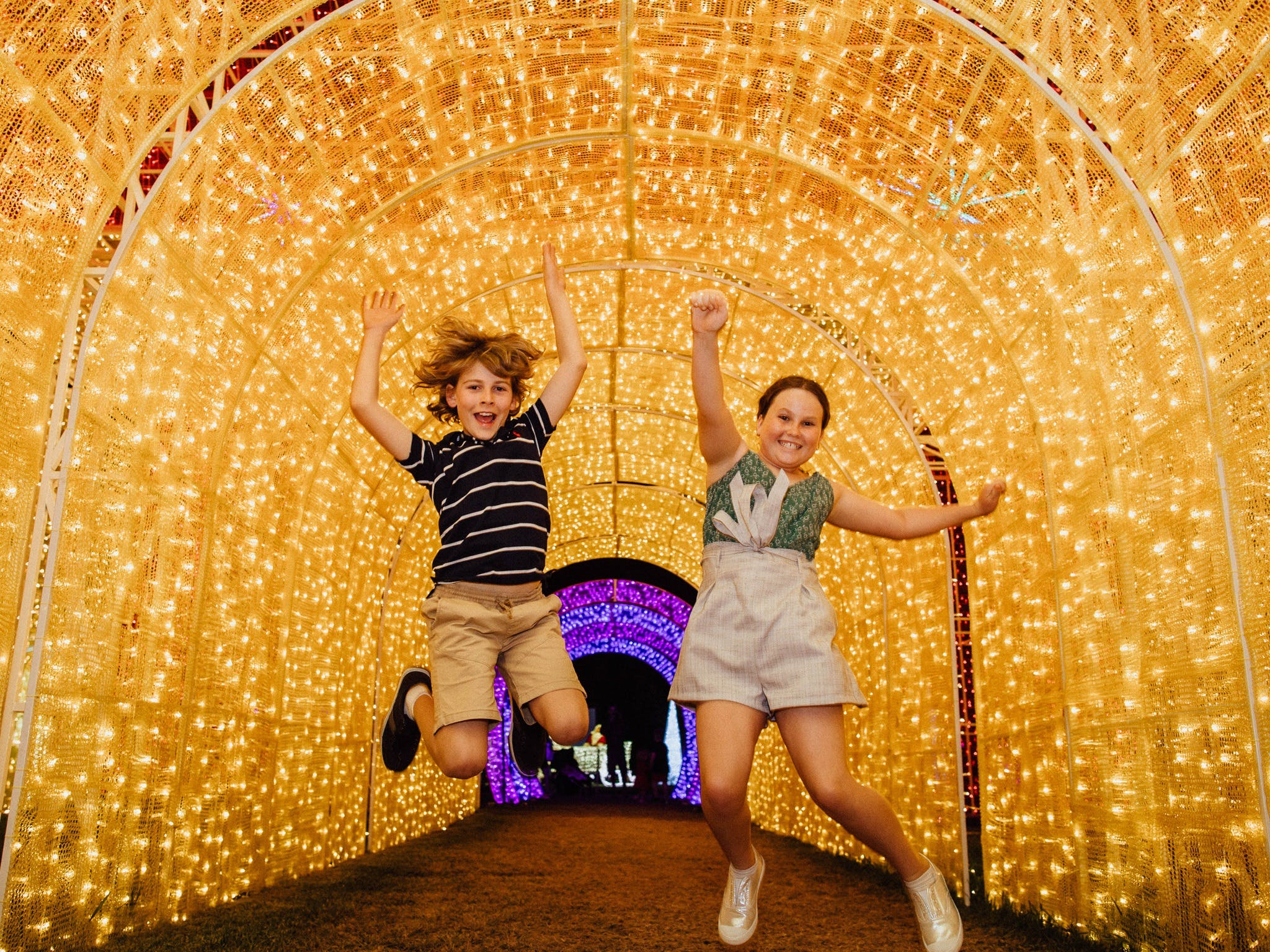 Christmas Lights Spectacular New Year's Eve at Hunter Valley Gardens - QLD Tourism