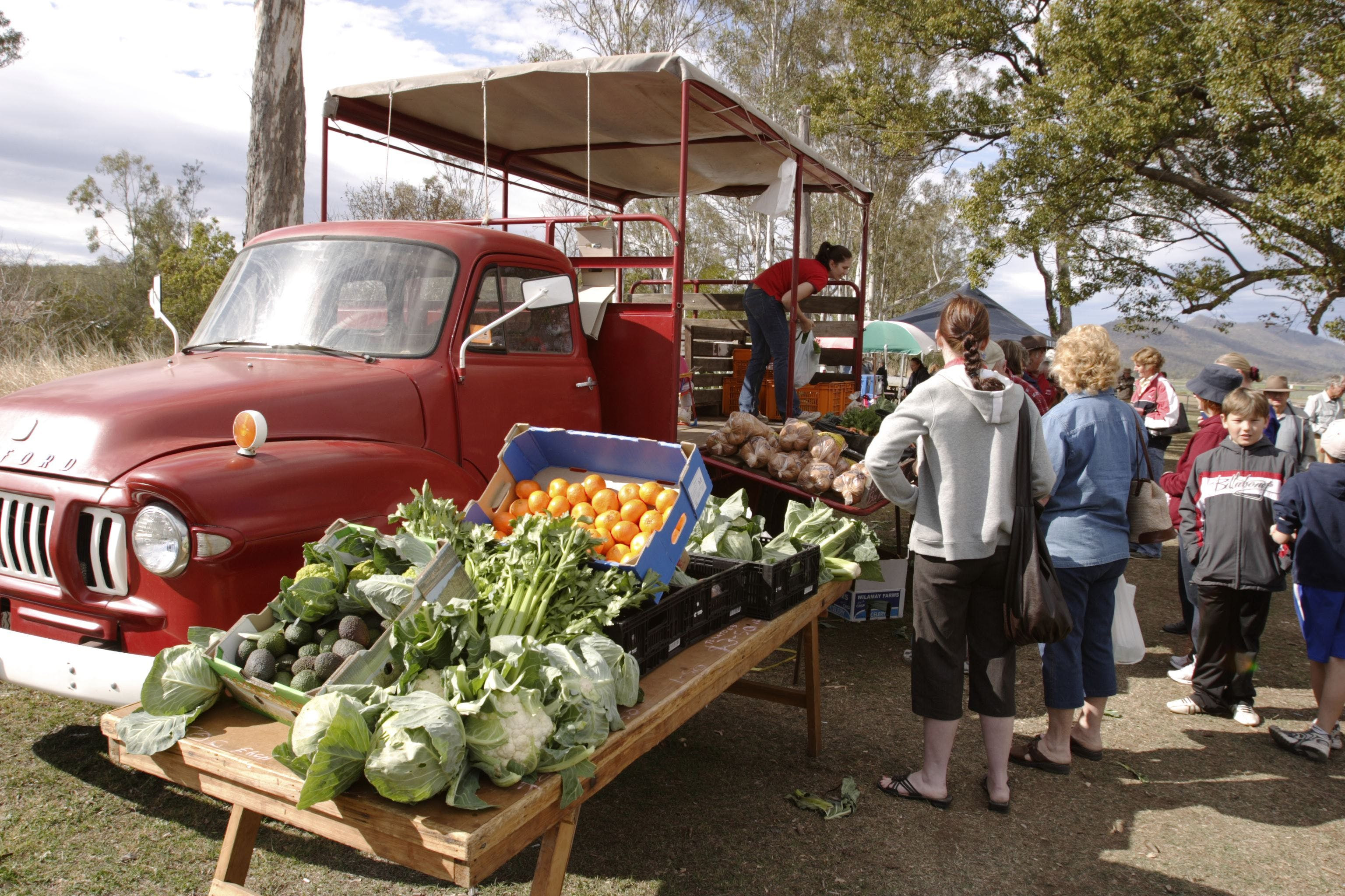 Murphys Creek Markets - QLD Tourism