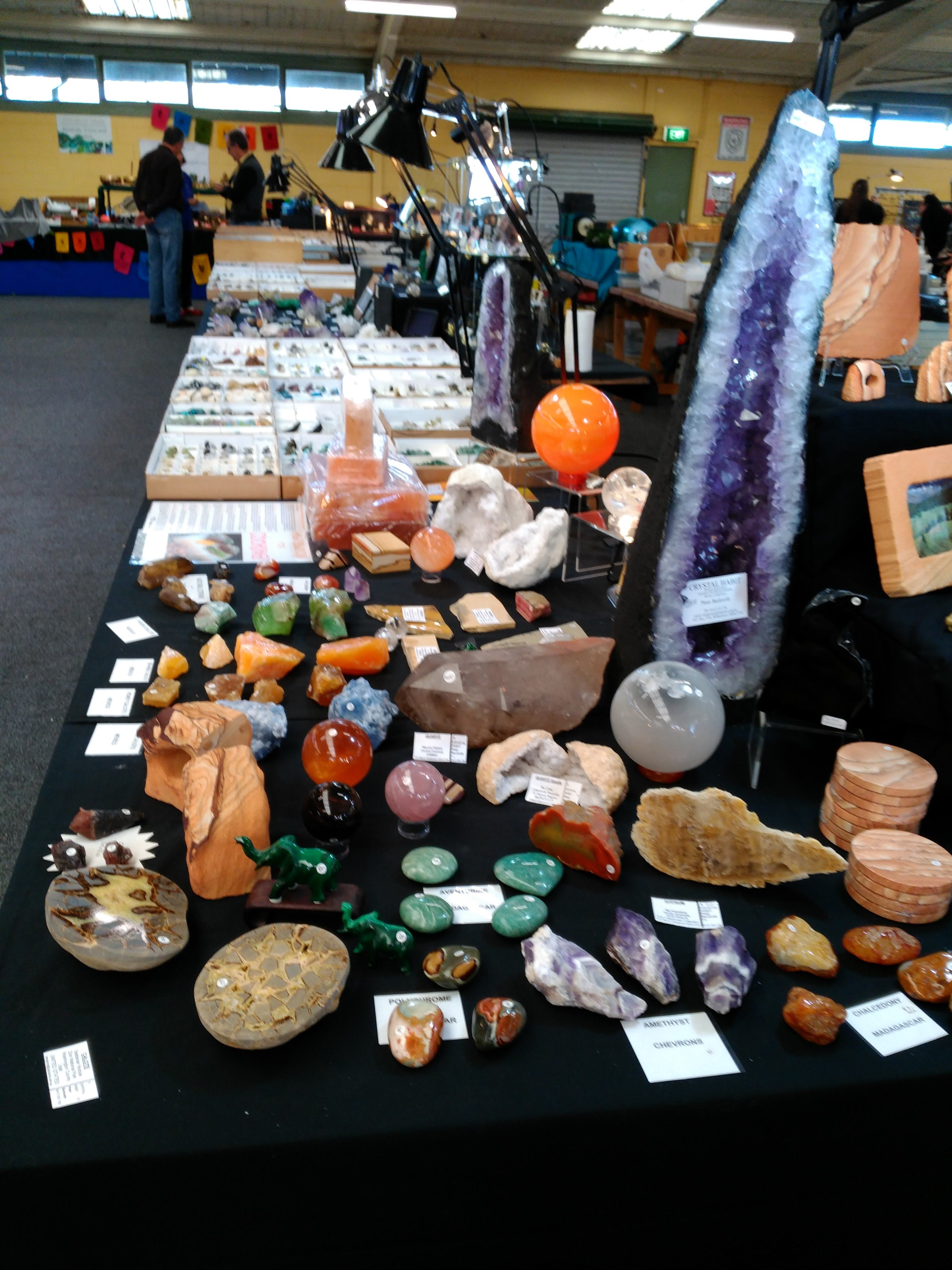 National Gem And Crystal Expo - QLD Tourism