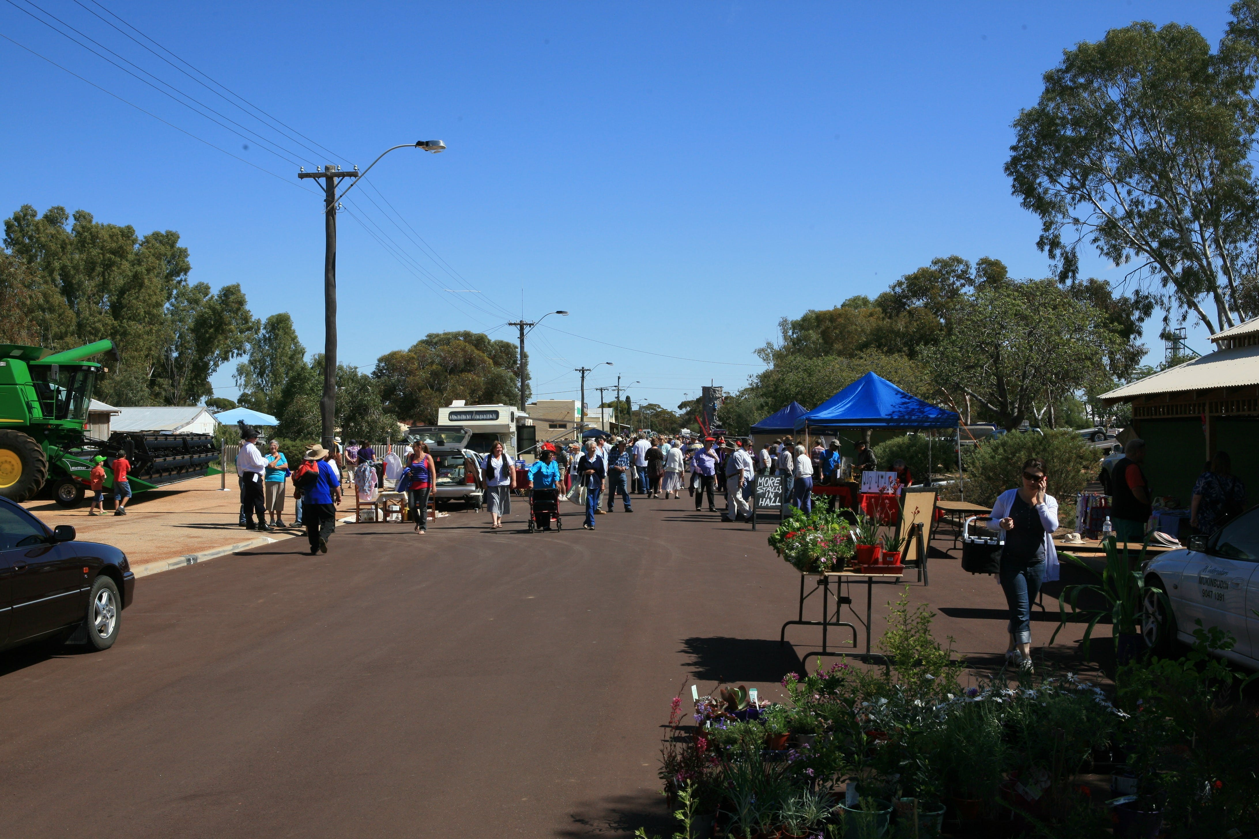 Nungarin Markets - QLD Tourism
