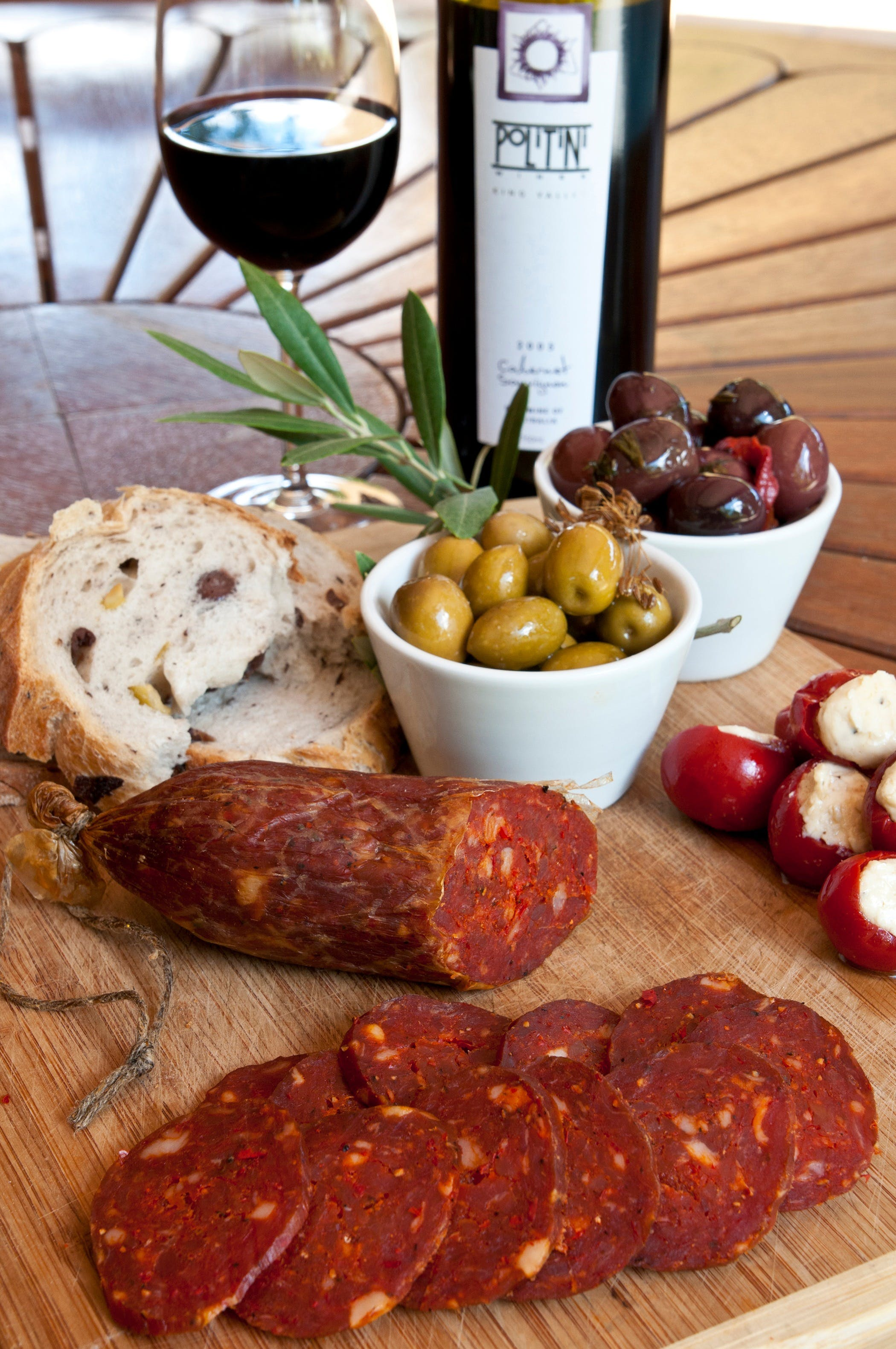 Salami and Salsicce Making classes at Politini Wines - QLD Tourism