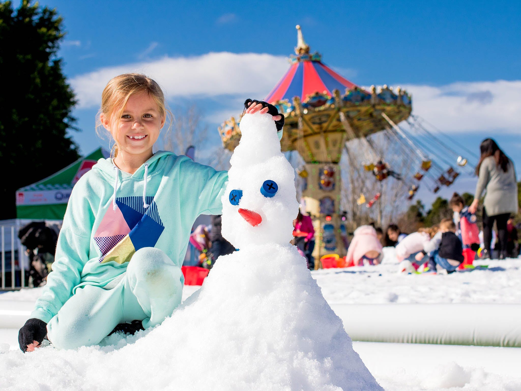 Snow Time in the Garden - Hunter Valley Gardens - Cancelled - QLD Tourism