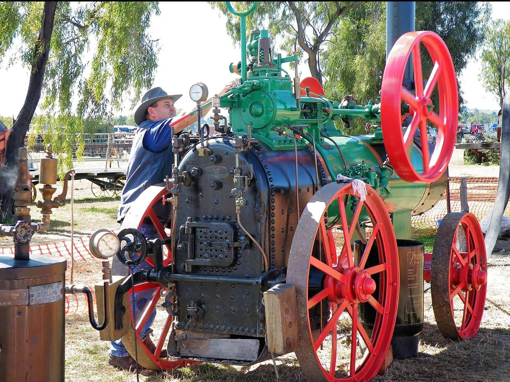 9th Biennial Queensland Heritage Rally - QLD Tourism