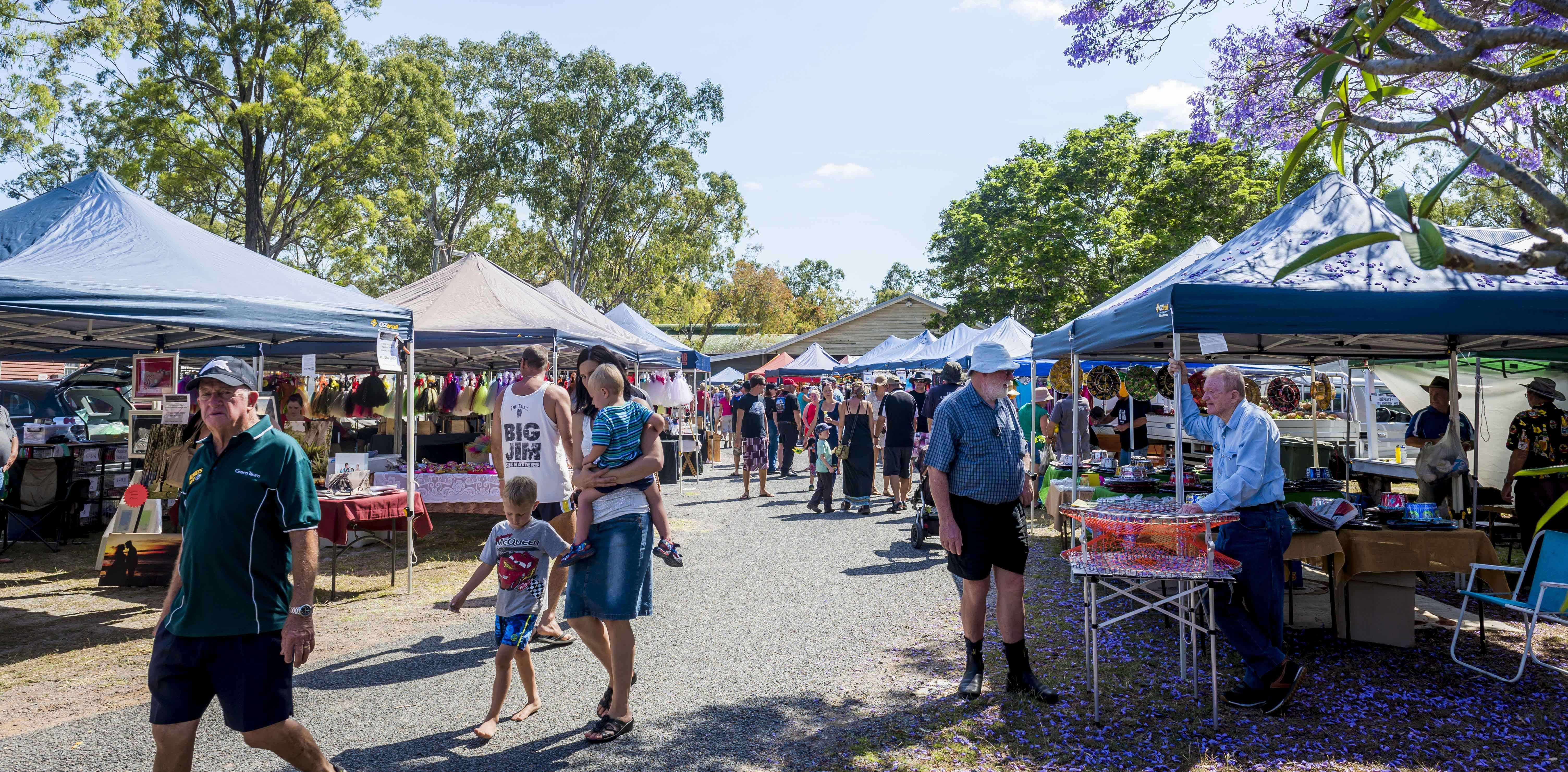 Calliope Historical Village Markets - QLD Tourism