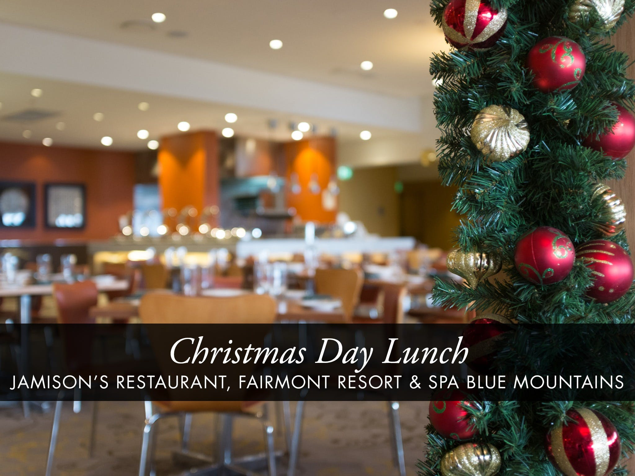 Christmas Day Buffet Lunch at Jamison's Restaurant - QLD Tourism