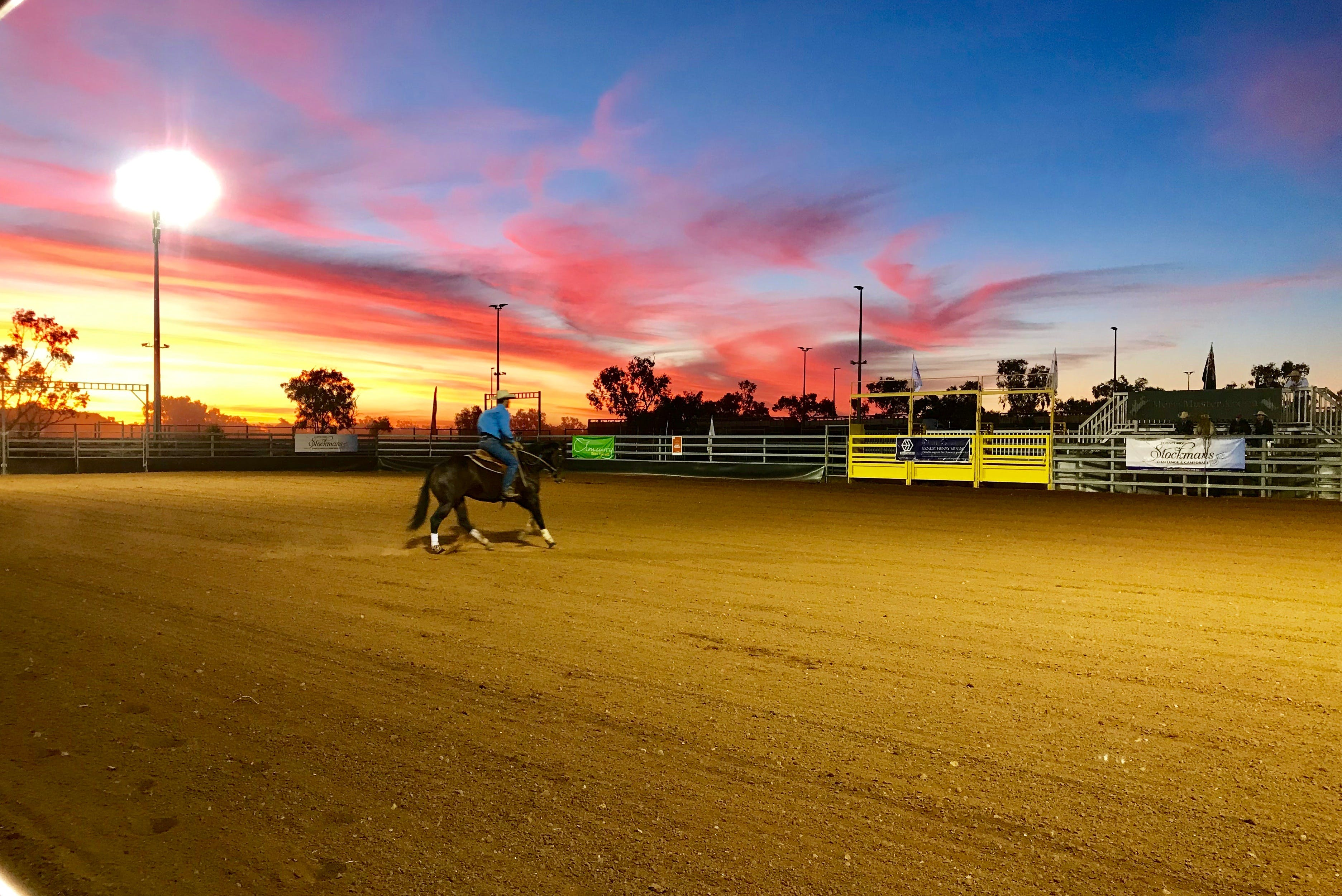 Cloncurry Stockmans Challenge and Campdraft - QLD Tourism