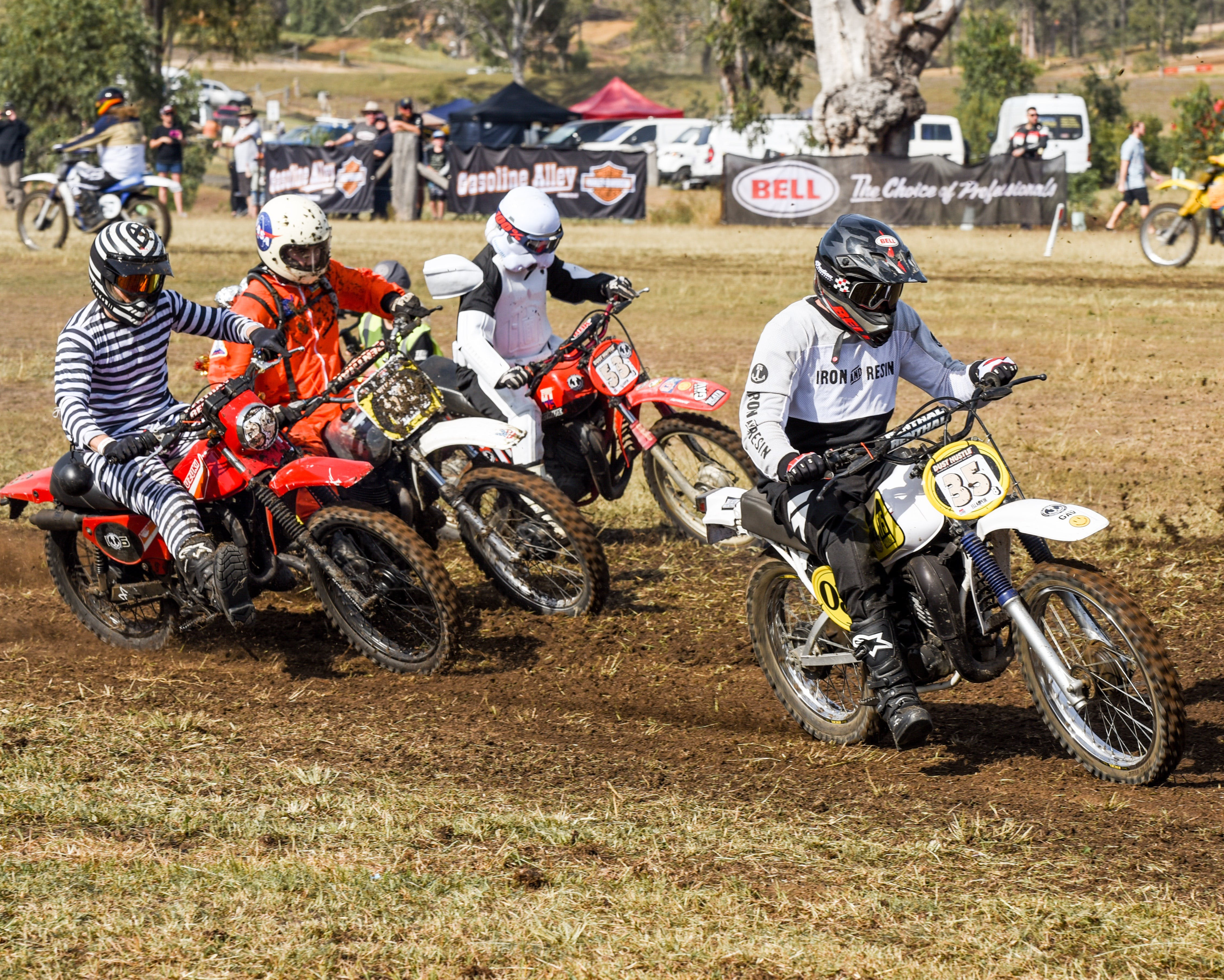 Dust Hustle Queensland Moto Park - QLD Tourism