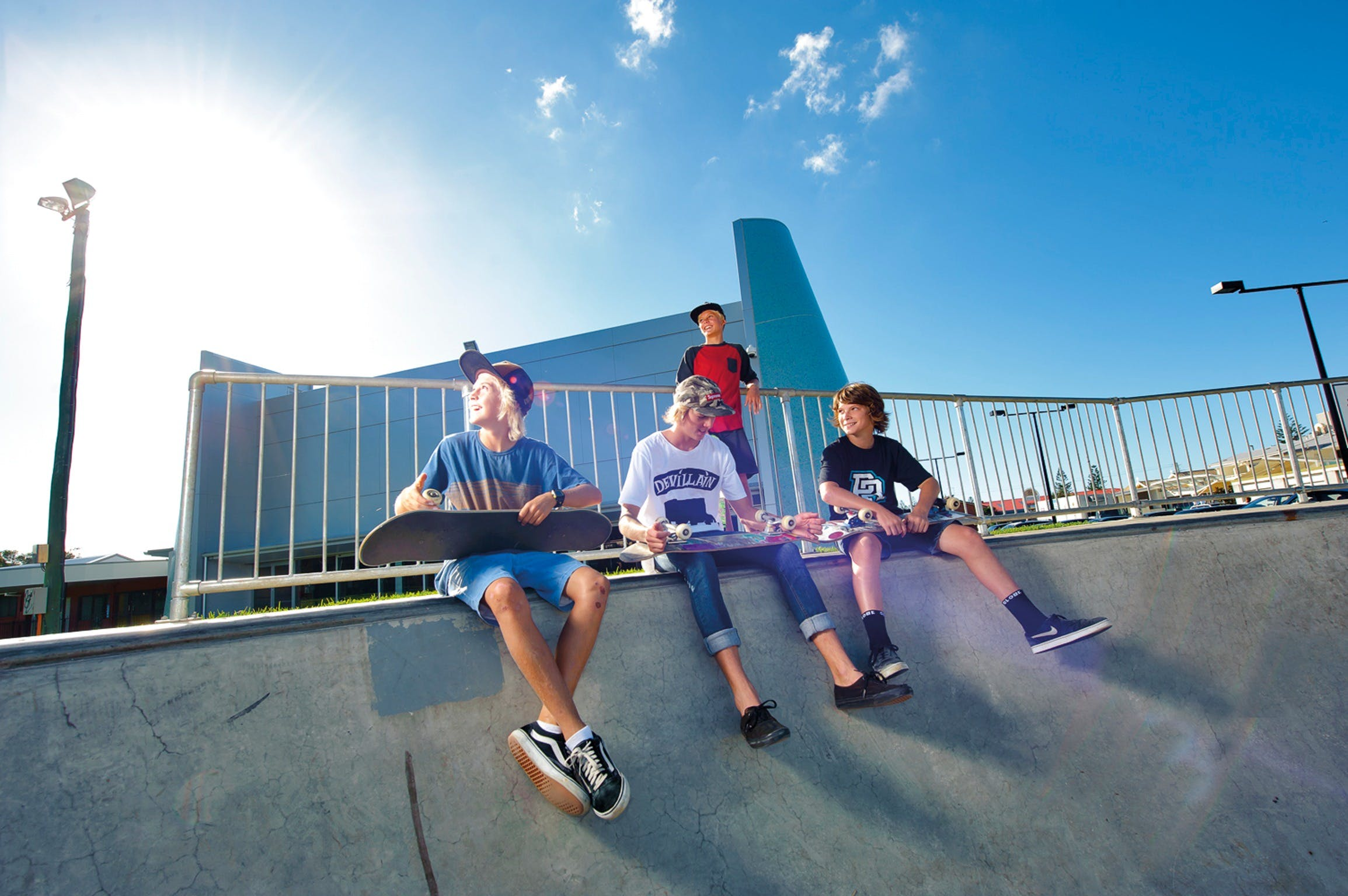 Fair Go Skate Comp - QLD Tourism