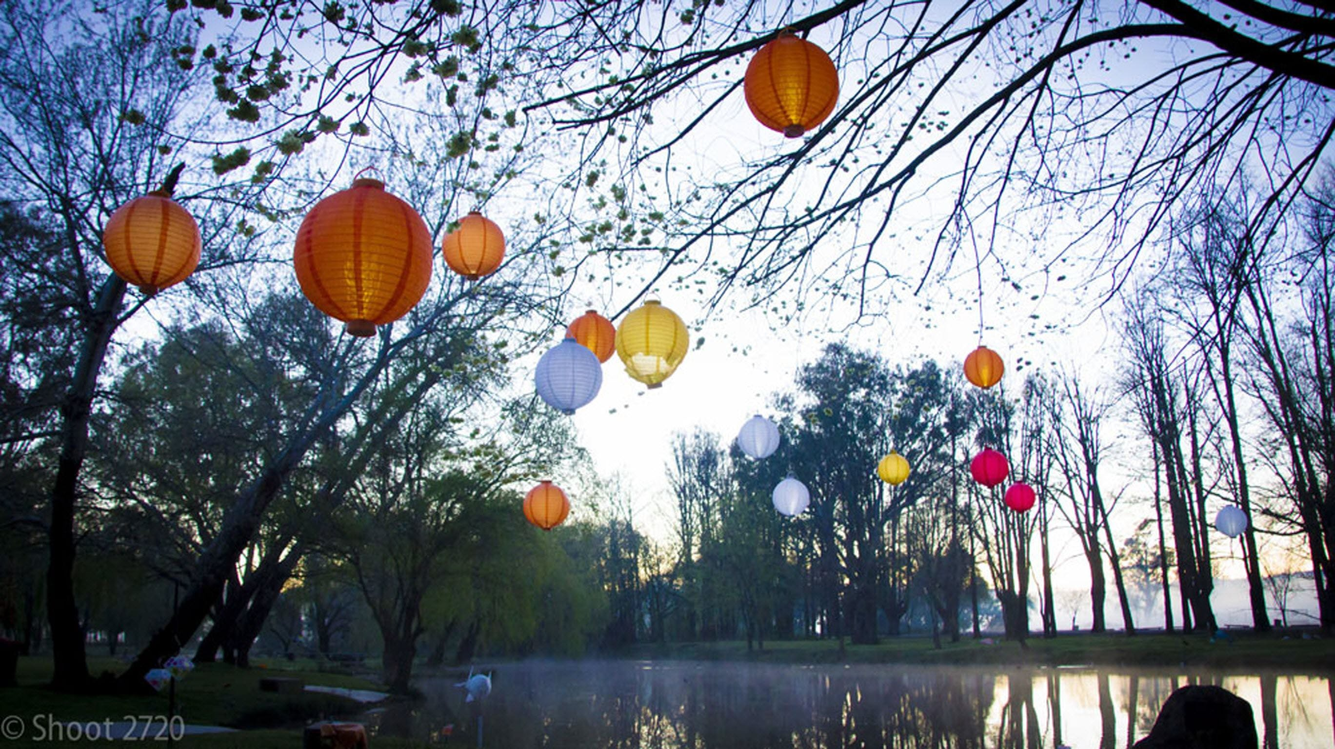 Lanterns on the Lagoon - QLD Tourism