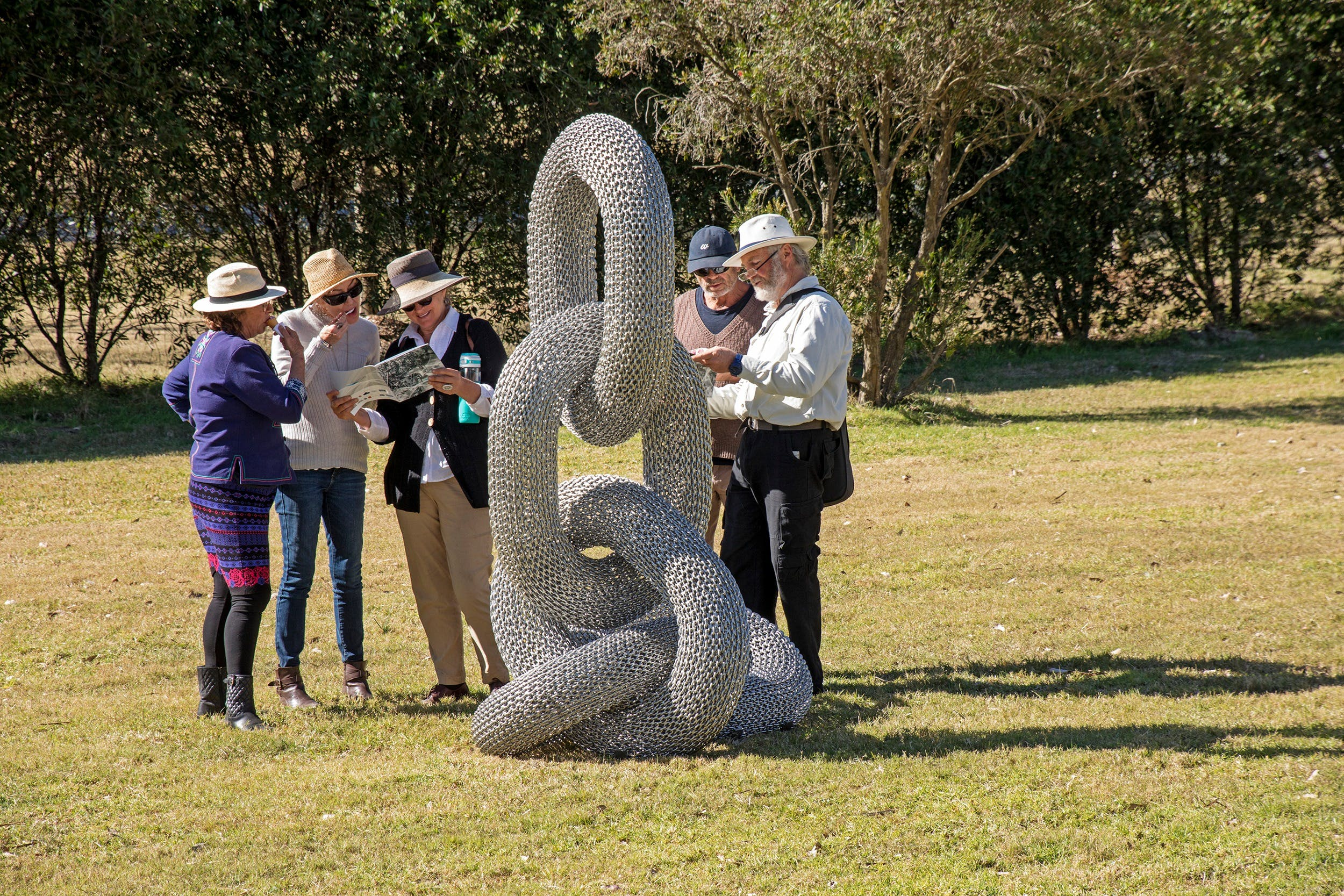 Sculpture for Clyde - Outdoor Exhibition - QLD Tourism